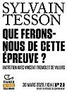 Tracts de Crise  - Que ferons-nous de cette épreuve ? par Tesson