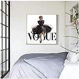MULMF Mode Figur Poster Und Drucke Vogue Wand Pop Art
