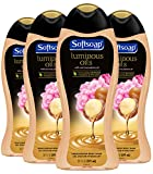 Softsoap Luminous Oils Moisturizing Body Wash Shower Gel, Macadamia Oil and Peony - 20 fluid ounce (4 Pack)