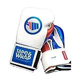 Guantes de Boxeo para Hombre y Mujer – Acolchado con Buena protección para Tus Manos de 16, 14, 12 onzas – Modelo T&W para Entrenamiento, Sparring, Kickboxing y Muay Thai (16)