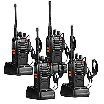 walkie talkie with earpiece