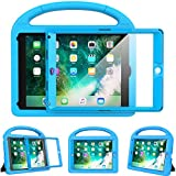 Surom Kids Case for New iPad 9.7 2018/2017 with Built-in