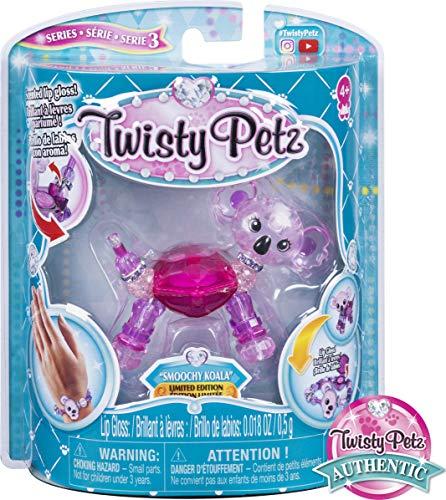 Twisty Petz 6054211 - 2 - in - 1 Armbandtiere mit Lipgloss, unterschiedliche Varianten