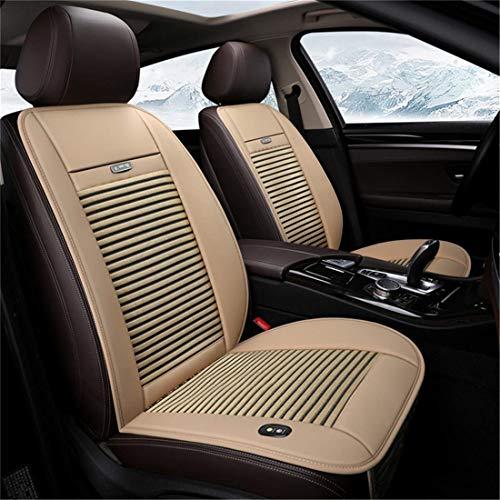 Sommer eingebaute Ventilator Kissen Luftzirkulation Ventilation Auto-Sitzabdeckung gepasst die meisten Autos, Trucks, SUV,Beige