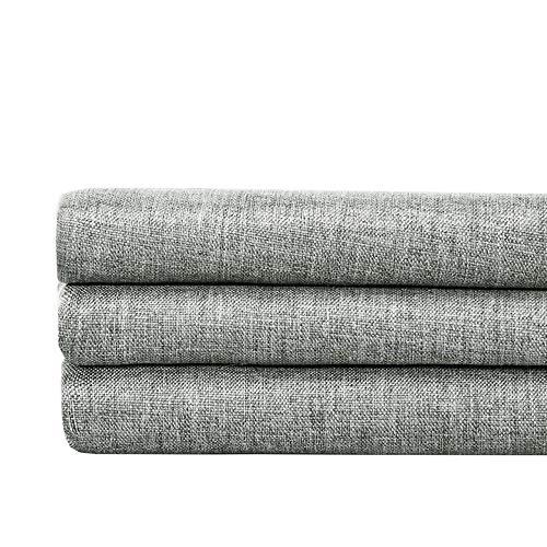 Shower Curtains Imitation Leinen Duschvorhang ist for Bad WC Trennwand Vorhang wasserdicht Verdickung Vorhang geeignet (Size : 180x200cm)