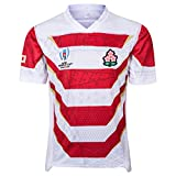 Rugby Jersey,2019 World Cup Summer Sports T-Shirts,Femmes Outdoor Loisirs Sweat-Shirts,Blanc,L