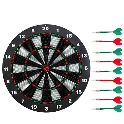 Dart board set 42 cm in diameter children\'s home indoor safety practice needle flying target-9 darts