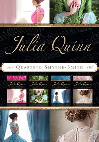 Box Quarteto Smythe-Smith: Série completa com os 4 títulos - Simplesmente o paraíso, Uma noite como esta, A soma de todos os beijos e Os mistérios de sir Richard