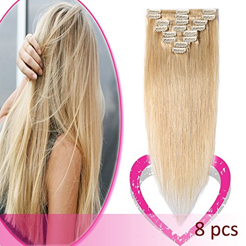 Hairro Soft Silky Straight Hair in Natural Blonde