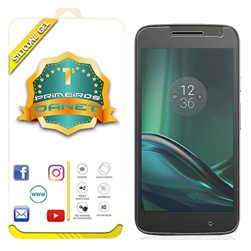 Película Curvada Gel Moto G4 Play Xt1600 Cobre Toda Tela