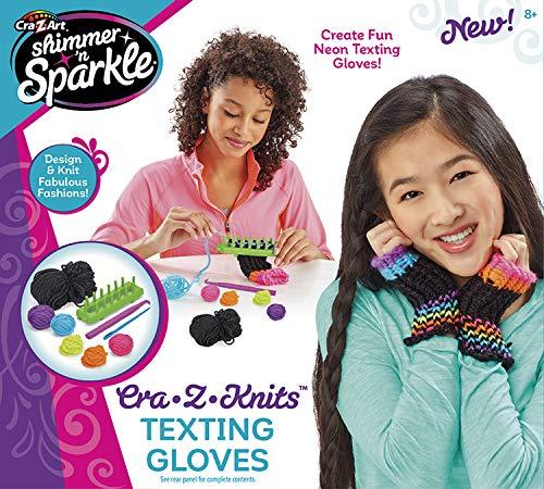 Shimmer & Sparkle CRA-Z-Knits Texting Gloves