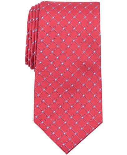 Nautica (NAV5C) Herren Skipper Grid Krawatte, Rote Dahlia, Einheitsgröße