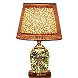 HTL Lámpara de Lectura de Iluminación Decorativa Interruptor de Botón, Caliente Llevó la Luz, Bañados en Oro Base...