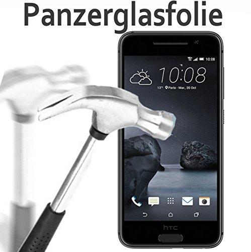 tomaxx HTC One A9 Glasfolie Hartglas 9H Panzerglas Panzerglasfolie