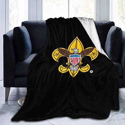 DUTRIX Scouts BSA Marketing Tools - Mantas de microforro polar supersuaves, mantas de aire acondicionado, camas de microfibra, mantas de sofá, 152 x 127 cm