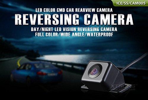 XTRONS Auto Rückkamera Rückfahrsystem Einparkhilfe Rückfahrkamera XTRONS LED Nachtsicht Auto Kamera wasserdicht Weitwinkel mit LED Sensor