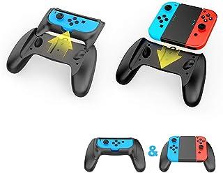 Centeni Joy-Con充電グリップ Nintendo Switch 専用 ジョイコングリップ 充電キット USB-C & USB-A ケーブル (1m), モーションセンサーゲーム 専用