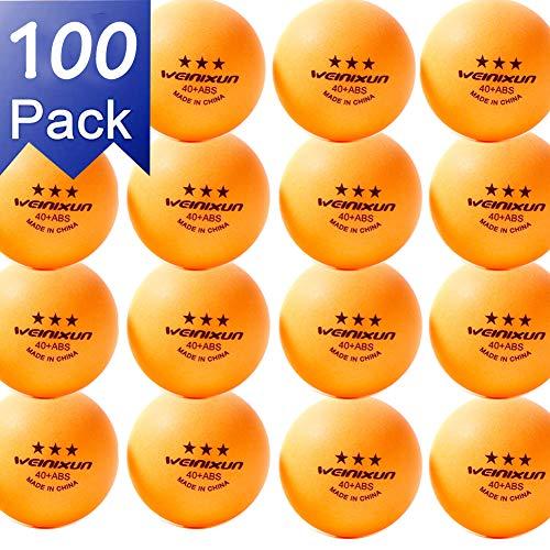 NXY Paquete 100 3 Estrellas 40+ Tenis Mesa Pelotas