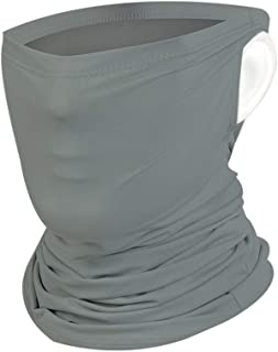 Sun UV Protection Multifunctional Face Mask Unisex Breathable Quick Dry Silk Bandana Neck Gaiter Headwear
