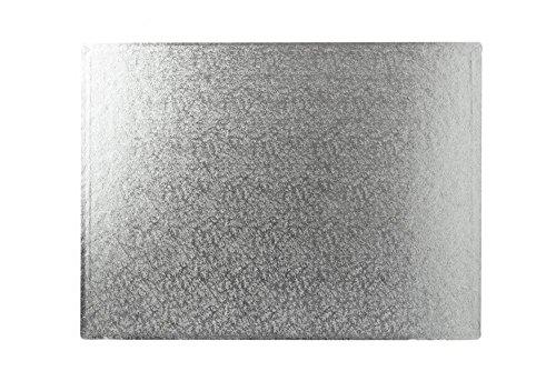 40,6 x 35,6 cm carré argent gâteau planches 12 mm d'épaisseur