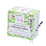 Nature's Herbal Calendula Salve (Lavender Chamomile), Eczema Cream, Eczema Ointment, Intensive Moisturizer for Sensitive Skin, Green + Lovely - 2 oz