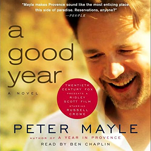 A Good Year                   By:                                                                                                                                 Peter Mayle                               Narrated by:                                                                                                                                 Ben Chaplin                      Length: 4 hrs and 57 mins     20 ratings     Overall 4.1