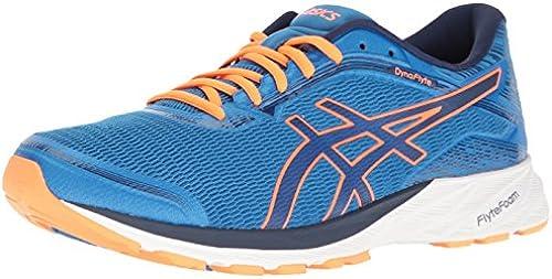 ASICS Men& 039;s Dynaflyte Running Running Running schuhe, Electric Blau Indigo Blau Hot Orange, 9 M US  Neuheiten