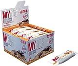 ProSupps MyBar Protein Riegel Proteinbar Eiweiß Viel Protein weniger Kalorien Diät Glutenfrei MIX Box 12x(55g) Fitnessriegel (Peanut Butter Crunch -Erdnussbutter Crunch) (Iced Cinnamon -Iced Zimt) (Iced Cream Cookie -Eiscreme)