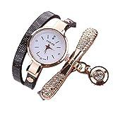 Armbanduhr Damen Ronamick Frauen Metall Band Uhr Uhren Damenuhren