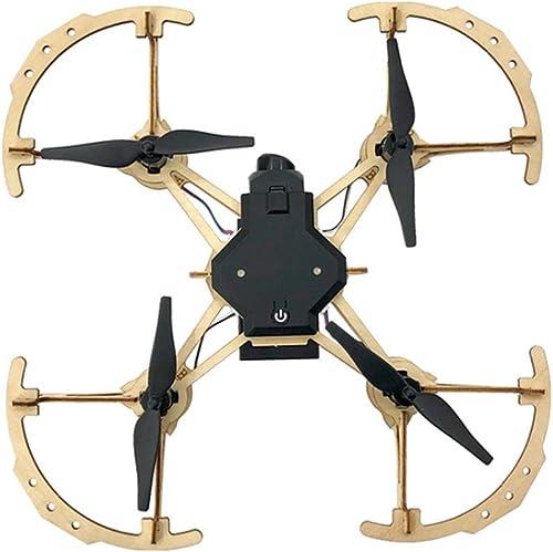 ZSTY Drohne, kompletter Satz von h ernen DIY-Drohnenpuzzle von Hand zusammengebaute vierachsige Flugzeuge mit Fester H nfernsteuerung, schnelle und langsame Gangschaltung, 360 ° -Rolle