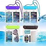 Best Galaxy Note 4 Waterproof Cases - FECEDY 4 Packs Universal Waterproof Case Big Phone Review