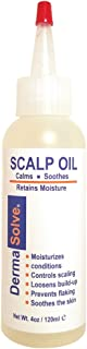 Dermasolve Psoriasis Scalp Oil Forumlated to Loosen Scaling Build-up, Moisturize, Condition, Prevent Flaking and Soothe the Scalp. (4.0 oz)
