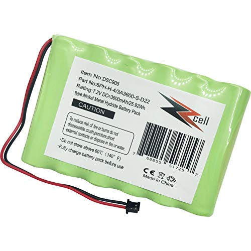 ZZcell Battery Replacement for DSC Impassa 9057 Control Panel,...