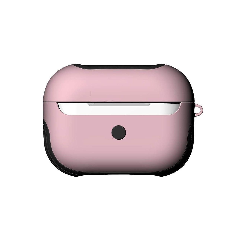 牛米国提供されたQXFD 完全な保護プレミアムカバー、防水ワイヤレスBluetoothヘッドセットケースカバーを充電プロAirPodsについては、クリエイティブカラフルなTPUケースカバー (Color : Pink)