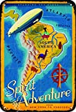 ERMUHEY The Funny New York to Venezuela Südamerika Vintage