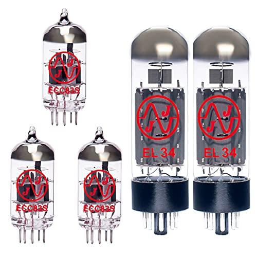Replacement Valve Kit for Fender Bassbreaker 45 (2 x ECC83 1 x Balanced ECC83 2 x Matched EL34)