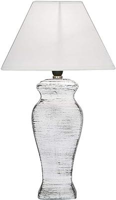 Oaks Lighting Tun Table Light, White
