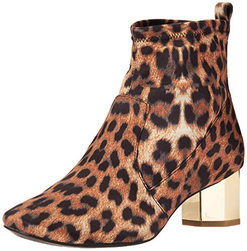 Katy Perry Women's The Daina Ankle Boot, BLACK BROWN, 8.5 M M US