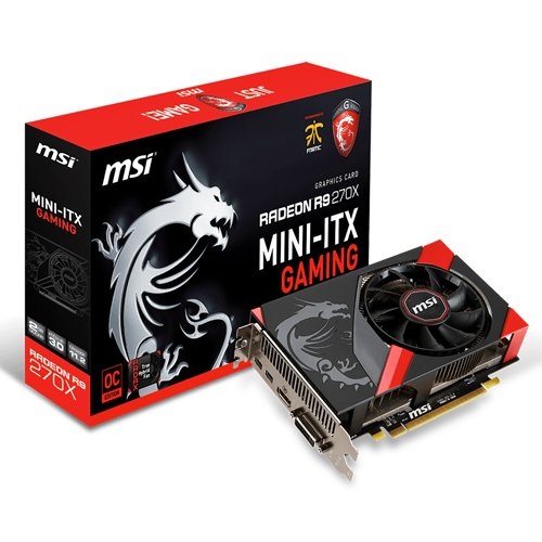 MSI R9 270X Gaming 2G ITX (PCI-e 3.0, 2GB GDDR5, DVI, HDMI, 2x Mini Display Port)