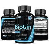 Biotin Hair Growth Vitamin Supplement- Grow Fuller, Longer, Thicker, Healthier Hair, Nails