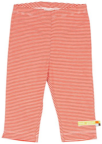 Loud + Proud Hose, Ringel Pantalon, Orange (Sunrise Su 4022), 6 Mois Mixte bébé