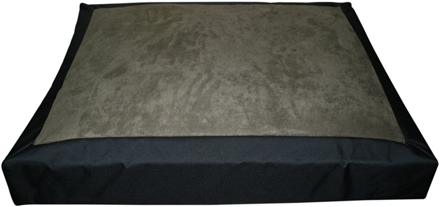 North American Pet Products Rough Dog Bed, Large, Sage Green