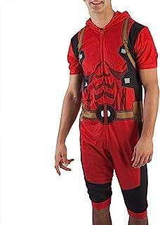Marvel Deadpool Cropped Union Suit Onesie