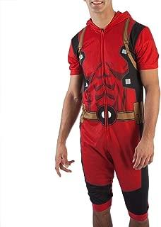 Deadpool Cropped Union Suit Onesie