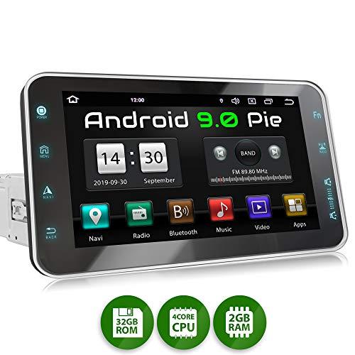 XOMAX XM-VA801 Radio de Coche con Android 9 I Quad Core, 2GB RAM, 32GB ROM I GPS...