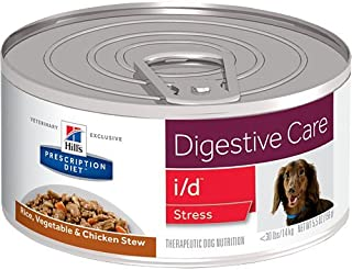 HILL'S Prescription Diet i/d Digestive Care Stress Rice, Vegetable & Chicken Stew Canned Dog Food 12/5.5 oz