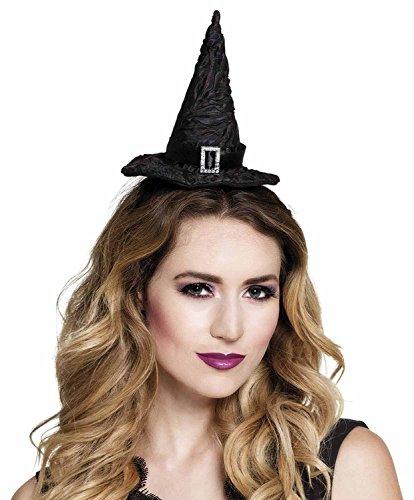 Tiara cappellino strega Lenore nero