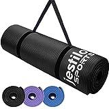 Jestilo Yoga Mat for Women and Men| Non-slip NBR exercise mat | Eco-friendly