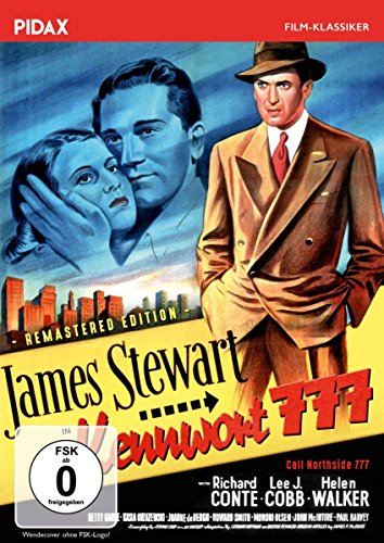 Kennwort 777 - Remastered Edition (Call Northside 777) / Packender Film Noir mit James Stewart (Pidax Film-Klassiker)