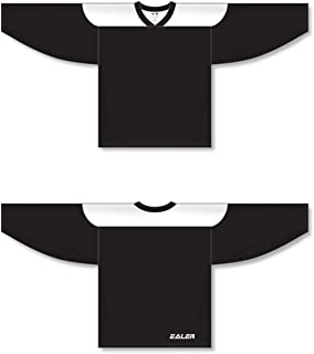 EALER Adult & Youth Team Ice Hockey Practice Jersey(2 Pack) - Senior to Junior